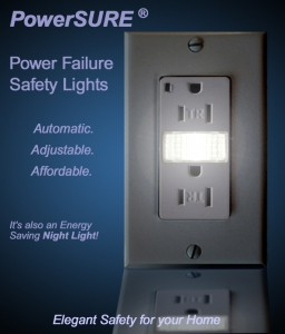 PowerSURE's Power Failure Safety Light