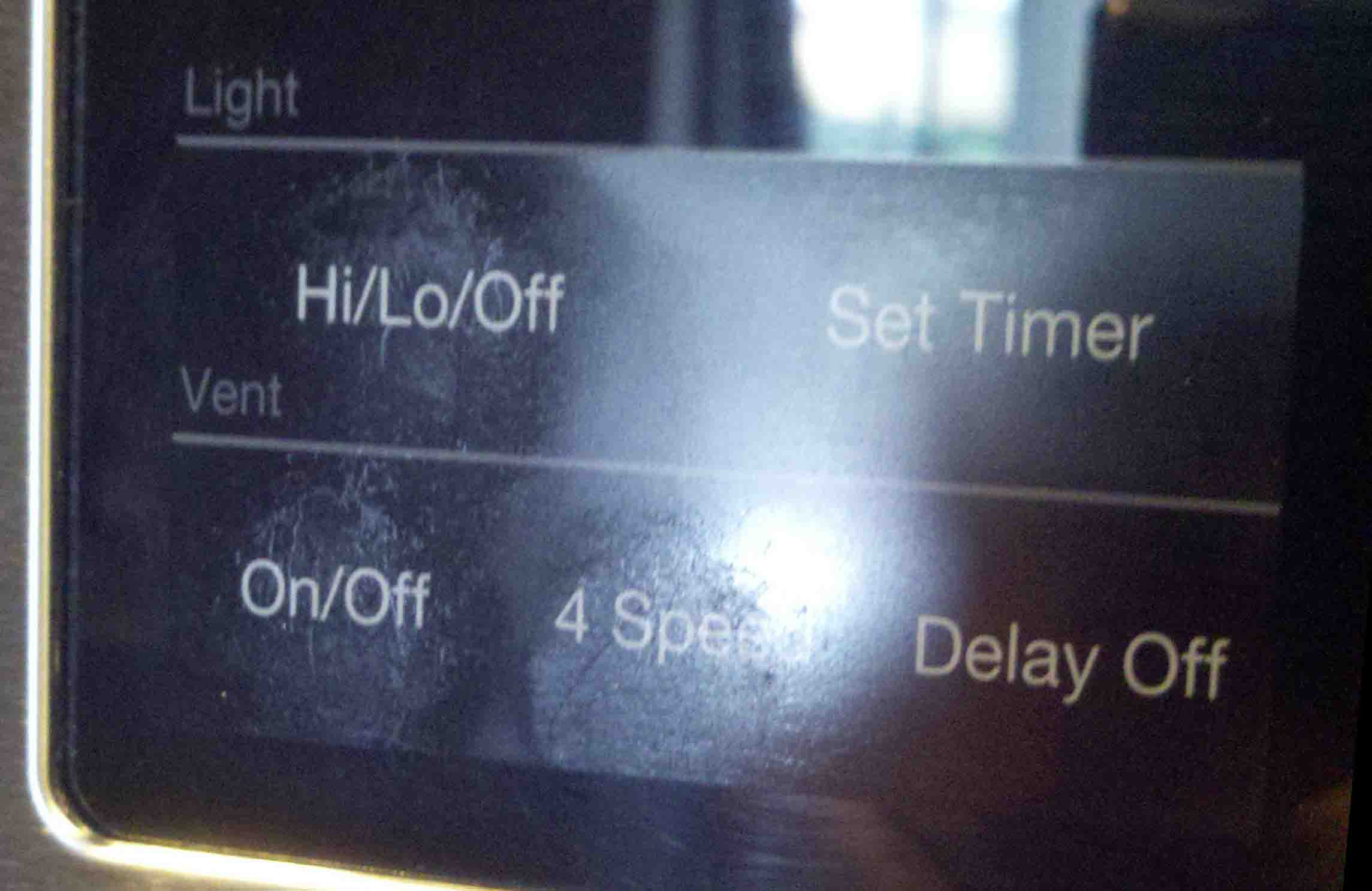 how to get the lights off samsung microwave