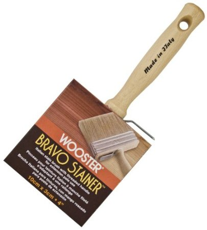Wooster Brush F5116-4 Bravo Stainer Stain Brush